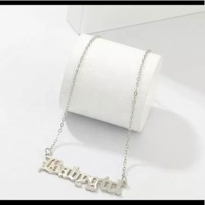 Silver Babygirl Necklace